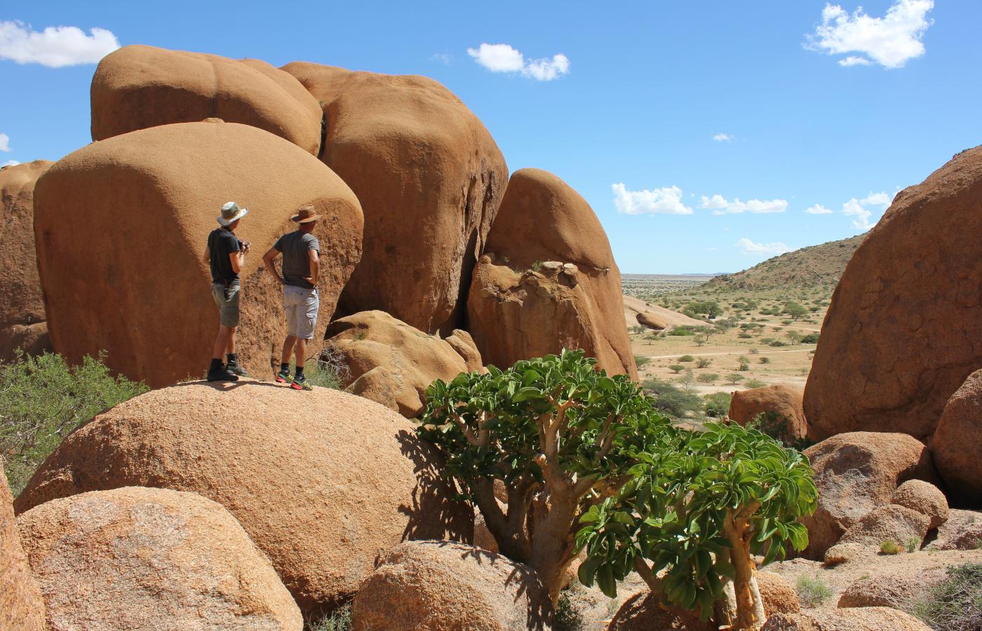 Namibia's Natur erwandern
